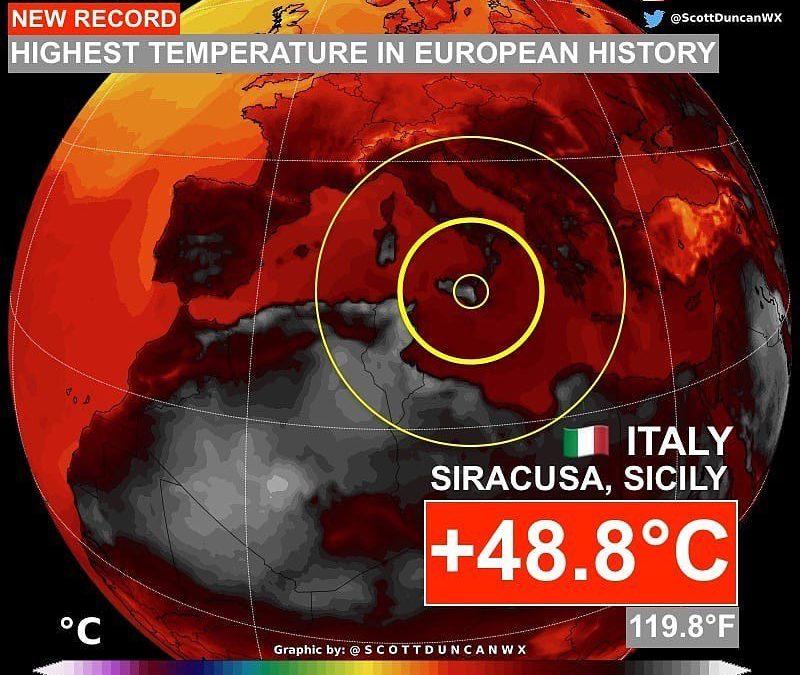 Climate Change – No comment.